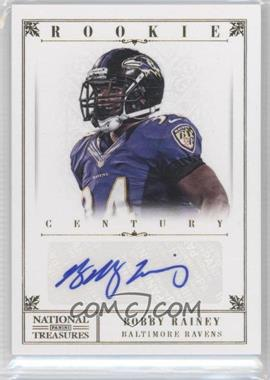 2012 Panini National Treasures Century Gold Signatures [Autographed] #208 - Bobby Rainey /49