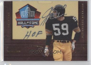 2012 Panini National Treasures Enshrinement Signatures #40 - Jack Ham /10