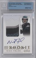 Nick Foles /49 [BGS AUTHENTIC]