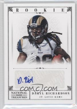 2012 Panini National Treasures #224 - Daryl Richardson /99