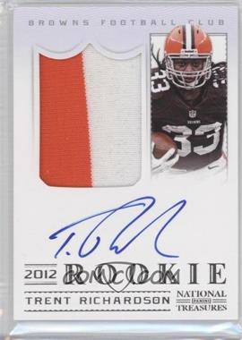 2012 Panini National Treasures #303 - Trent Richardson /99