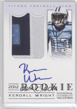 2012 Panini National Treasures #309 - Kendall Wright /99