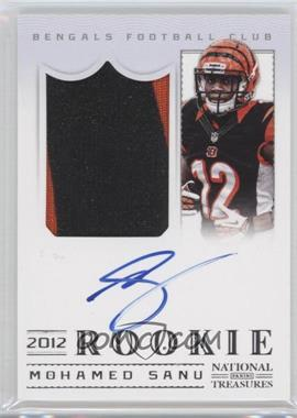 2012 Panini National Treasures #316 - Mohamed Sanu /99