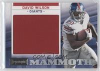 David Wilson /75