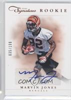 Rookie Prime Signatures - Marvin Jones /199