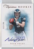 RPS Rookie Prime Signatures - Nick Foles /199