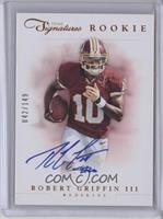 RPS Rookie Prime Signatures - Robert Griffin III /149