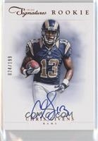 RPS Rookie Prime Signatures - Chris Givens /199