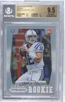Andrew Luck (short print: ball at shoulder) [BGS 9.5]