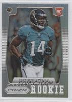 Justin Blackmon (short print: running to the left)