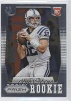 Andrew Luck (short print: ball at shoulder)