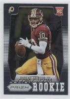 Robert Griffin III short print: white sleeve