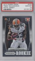 Trent Richardson (short print: white jersey) [PSA 10]