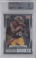 Alfred Morris (short print: ball to chest) [BGS 9]
