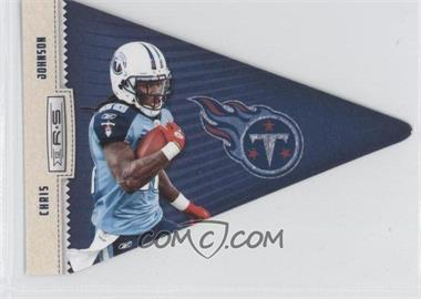 2012 Panini Rookies & Stars - Player Pennants #13 - Chris Johnson