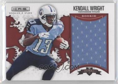2012 Panini Rookies & Stars - Rookie Crusade - Red Materials #7 - Kendall Wright /199