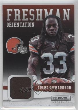 2012 Panini Rookies & Stars Longevity - Freshman Orientation Materials #32 - Trent Richardson