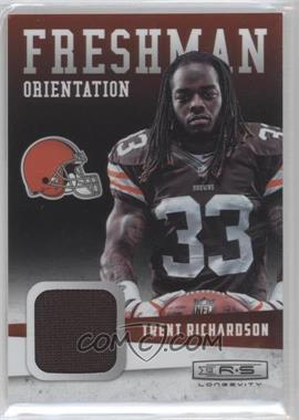 2012 Panini Rookies & Stars Longevity Freshman Orientation Materials #32 - Trent Richardson