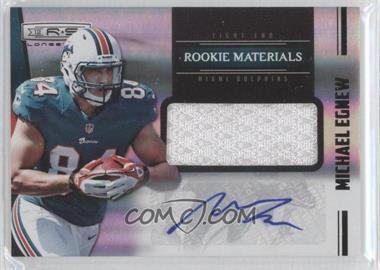 2012 Panini Rookies & Stars Longevity Rookie Materials Signatures [Autographed] #239 - Michael Egnew /25