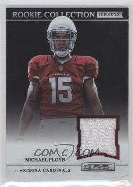 2012 Panini Rookies & Stars Rookie Collection Jerseys #3 - Michael Floyd