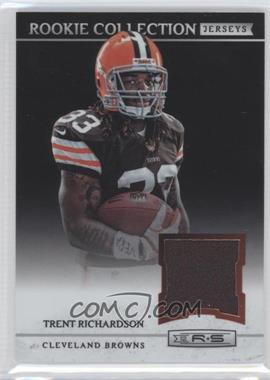 2012 Panini Rookies & Stars Rookie Collection Jerseys #9 - Trent Richardson