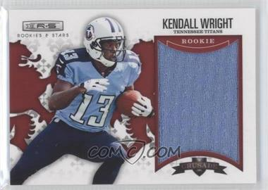 2012 Panini Rookies & Stars Rookie Crusade Red Materials #7 - Kendall Wright /199