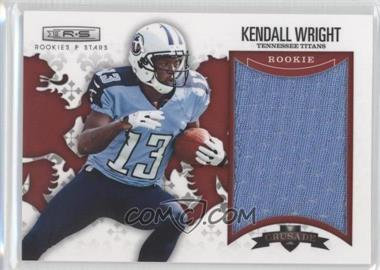 2012 Panini Rookies & Stars Rookie Crusade Red Materials #7 - Kendall Wright /199