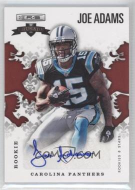 2012 Panini Rookies & Stars Rookie Crusade Red Signatures [Autographed] #34 - Joe Adams /199
