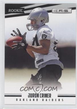 2012 Panini Rookies & Stars #181 - Juron Criner