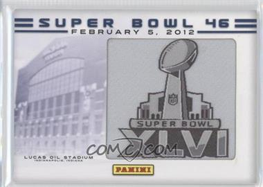 2012 Panini Super Bowl Manufactured Patches [???] #N/A - Lucas Oil Stadum