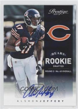 2012 Playoff Prestige - [Base] - Rookie Signatures [Autographed] #274 - Alshon Jeffery /299
