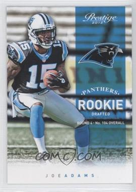 2012 Playoff Prestige - [Base] #282 - Joe Adams