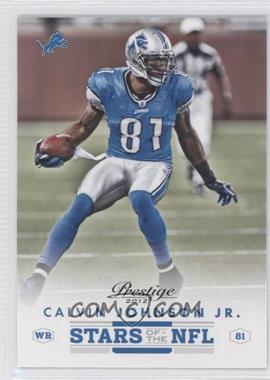 2012 Playoff Prestige - Stars of the NFL #12 - Calvin Johnson Jr.