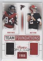 Roddy White, Matt Ryan /249