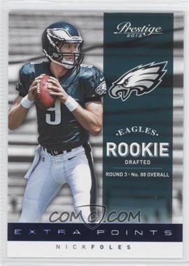 2012 Playoff Prestige Extra Points Blue Rookies #232 - Nick Foles /999