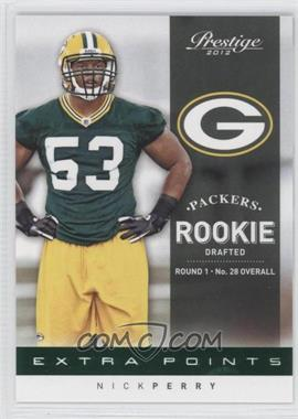 2012 Playoff Prestige Extra Points Green #206 - Nick Perry /25