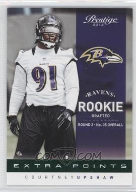 2012 Playoff Prestige Extra Points Green #219 - Courtney Upshaw /25