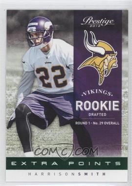 2012 Playoff Prestige Extra Points Green #260 - Harrison Smith /25