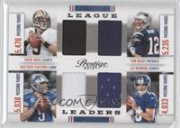 Drew Brees, Matthew Stafford, Eli Manning, Tom Brady /249