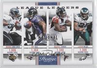 LeSean McCoy, Maurice Jones-Drew, Michael Turner, Ray Rice /5