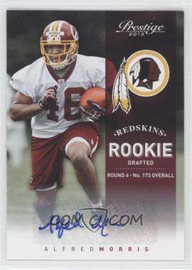 2012 Playoff Prestige Rookie Signatures [Autographed] #216 - Alfred Morris /899