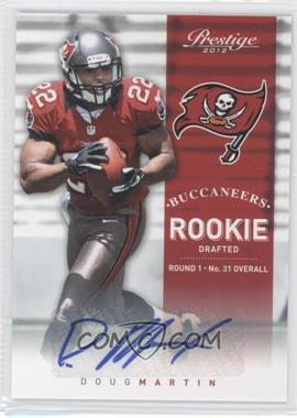 2012 Playoff Prestige Rookie Signatures [Autographed] #245 - Doug Martin /499