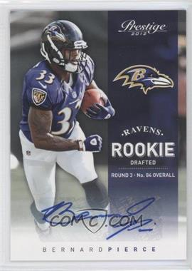2012 Playoff Prestige Rookie Signatures [Autographed] #248 - Bernard Pierce /286