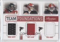 Roddy White, Matt Ryan, Julio Jones /249