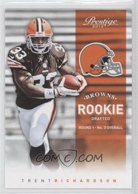 2012 Playoff Prestige #242.1 - Trent Richardson