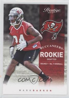 2012 Playoff Prestige #262.1 - Mark Barron