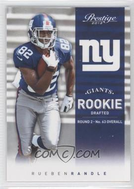 2012 Playoff Prestige #275.1 - Rueben Randle