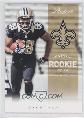 2012 Playoff Prestige #277 - Nick Toon