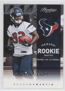 2012 Playoff Prestige #279 - Keshawn Martin
