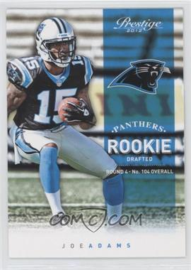 2012 Playoff Prestige #282 - Joe Adams